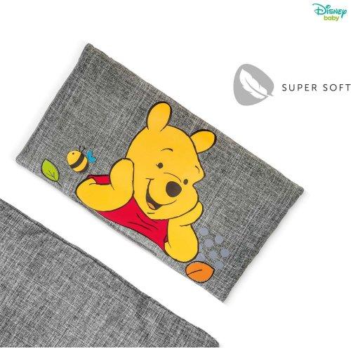 Disney Winnie The Pooh Alpha Highchair Pad Deluxe - Pooh Grey