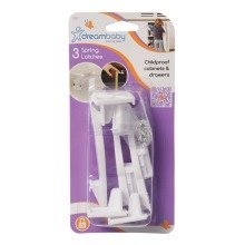 Dreambaby Spring Latches 3 Pack
