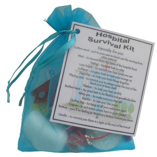 Hospital Survival Gift Kit | Novelty Get Well Soon Gift