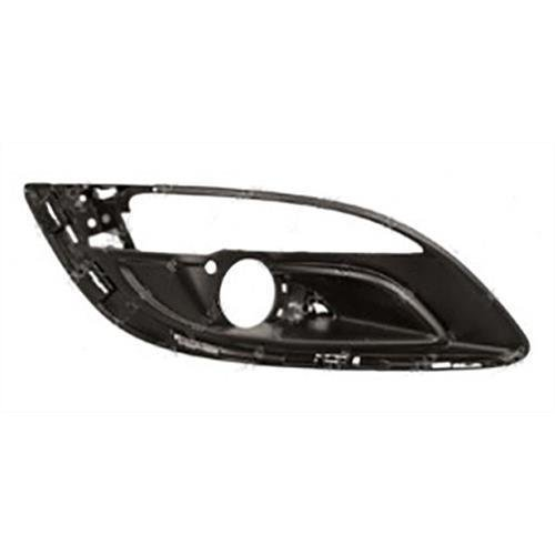 Vauxhall Astra 5 Door Estate  2012-2015 Front Bumper Grille Outer Section - With Lamp Hole - Chrome Moulding Type Driver Side R