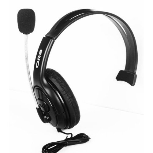 ORB Black Elite Headset Xbox 360