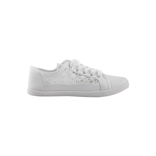 Crochet Panelled Plimsoll Trainers