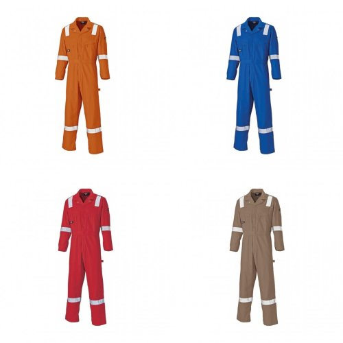 Dickies Mens Work Wear Lightweight Cotton Coverall (Regular Leg Length)