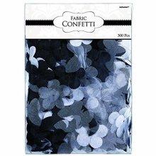Fabric Petal Black Confetti 5cm - /300