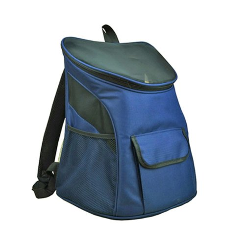 Pet Carrier Soft Sided Travel Bag for Small dogs & cats- Airline Approved, Blue #11