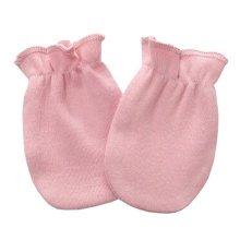 Warm Unisex-Baby Gloves Newborn Mittens Soft No Scratch Mittens, Pink
