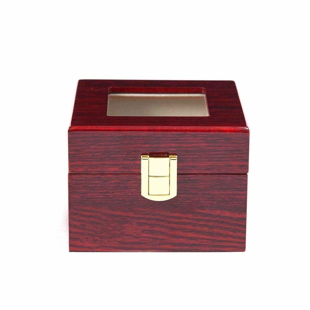 aca0258fe ... VARANDA 2 Watch Display Box Case Wooden Piano Paint Red - 2 ...