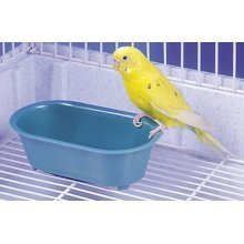 Bird Toy, For Budgies & Small Birds, Bird Bath With Mirror