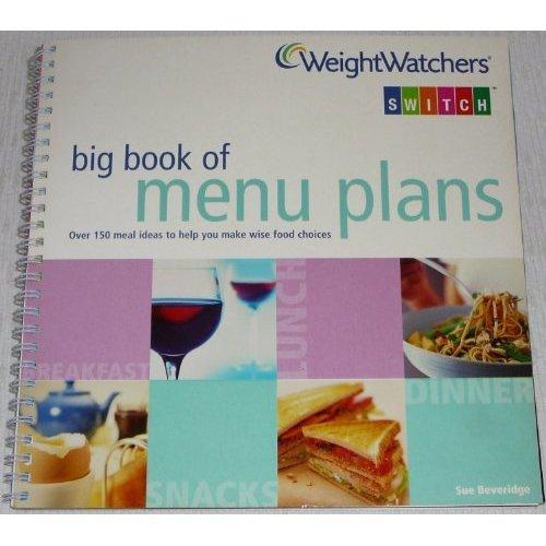 Weight Watchers Book of Menu Plans