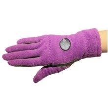 1 Pair Of Female Golf Gloves Non-slip Resistant Dirt Gloves-b