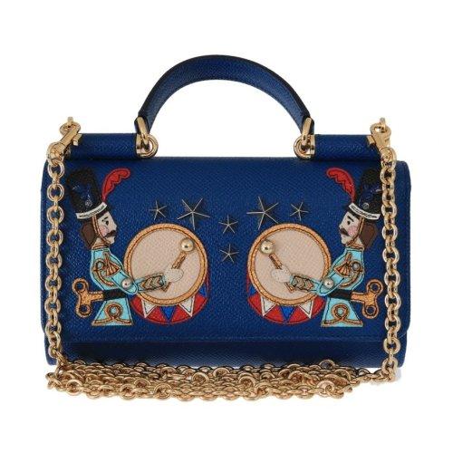 ad7e98fd52 Dolce & Gabbana Blue SICILY Leather Shoulder Bag on OnBuy