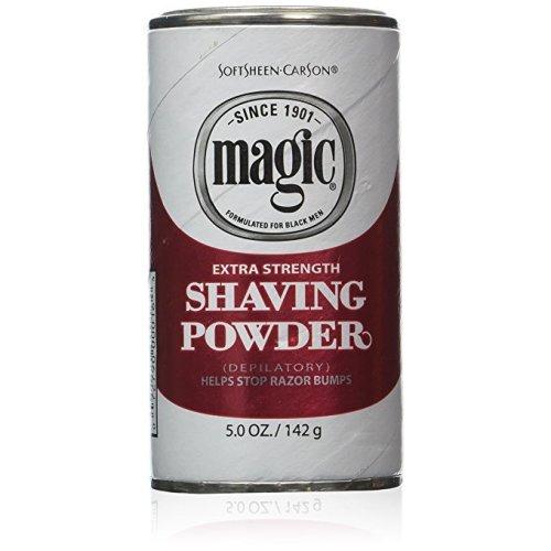 Magic Extra Strength Red Shaving Powder 142g | Hair Removal Powder