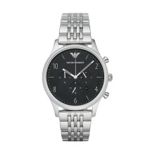 Emporio Armani AR1863 Men's Black Chronograph Quartz Watch