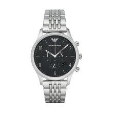 Emporio Armani AR1863 Men's Black Chronograph Quartz Watch