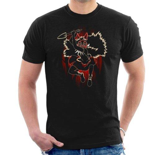 Shadow Of The Mask Princess Mononoke Men's T-Shirt