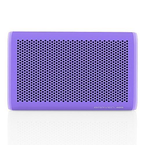 Braven 405 Wireless Portable Bluetooth Speaker Waterproof Outdoor Rugged 24 Hour Playtime 2100 mAh Periwinkle