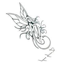 10 Pcs Popular Unisex Waterproof Angel Tattoo Stickers Arm Tattoo Stickers