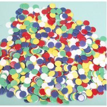 Pack of 1000 x 1.6cm(5/8inch) dia. playing counters 00509