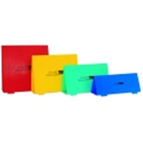 15.75 in. Foldable Training Hurdles - Set 5, Yellow