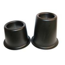 "Cone Furniture Raisers - Chair and Bed Risers - Packs of 4 or 6 (Height Increase - 3.5"" or 5.5"")"