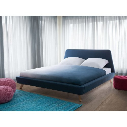 Bed - Super King Size Bed Frame - Upholstered - VIENNE