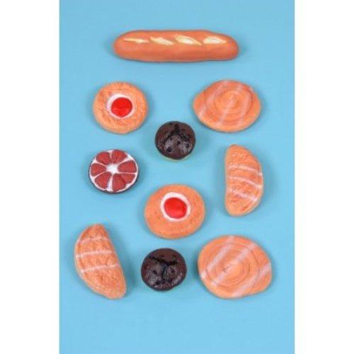 Childrens 10 Piece Bakery Food Set (A1441)