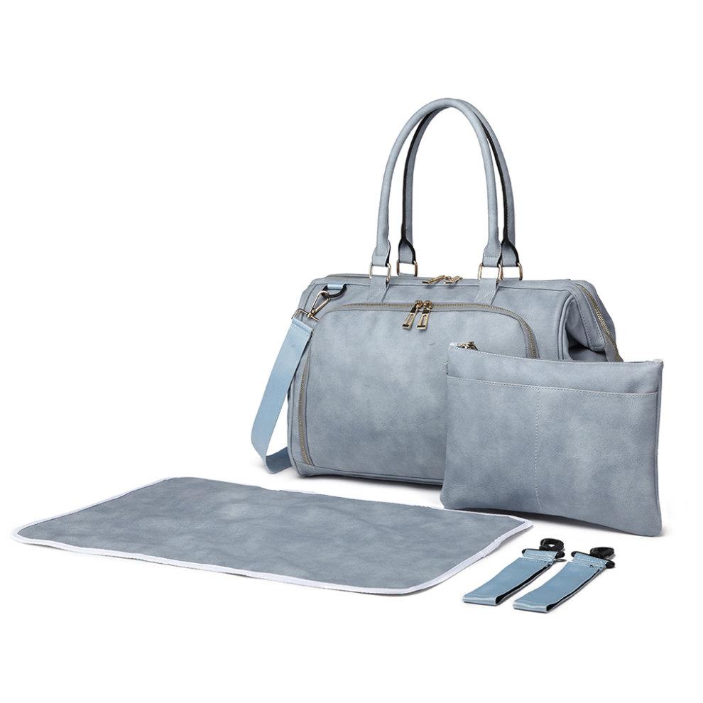 Dotwork Blue BABYMOOV Baby Style Changing Bag