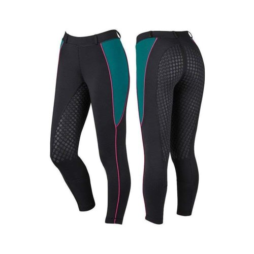 Dublin Womens/Ladies Performance Flex Zone Riding Tights