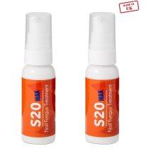 2 x S20 MAX Fingernails and Toenails Fungus Treatment - Anti fungal
