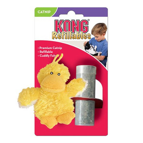 Kong Cat Refillable Catnip Duck Cat Toy