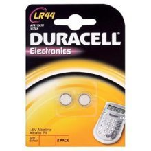 Duracell LR44 Alkaline 1.5V non-rechargeable battery