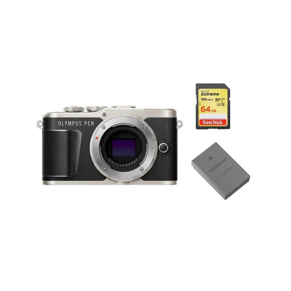 OLYMPUS E-PL9 Body Black + SanDisk Extreme 64G SD card+BLS-50 Battery
