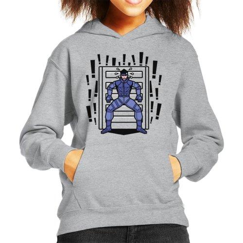 Alert Snake Metal Gear Solid Kid's Hooded Sweatshirt