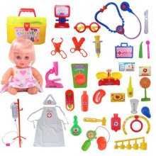 Learning Toys Pretend & Play Doctor Set Kids Doctor Simulation Box