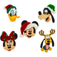 Dress It Up Licensed Embellishments-Disney Holiday Heads