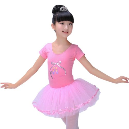 Professional Ballet Skirt Tutu Dress Ballet Dance Costumes for Party/Stage Performance, F