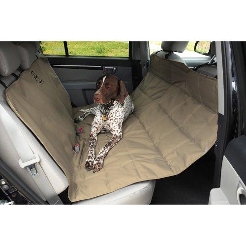 "Petego Xl Rear Car Seat Protector Hammock 59.5""X64.5""-Tan"