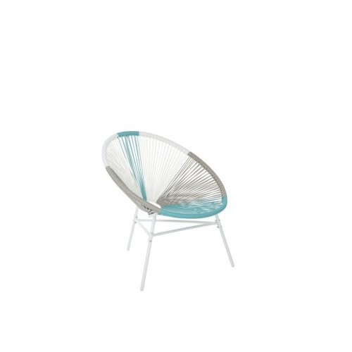 Accent Chair Multicolour Blue ACAPULCO