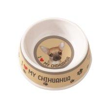 Smooth Coat Chihuahua Dog Bowl