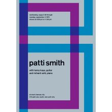 "Patti Smith @ New York City, 1974 14"" x 10"" Gig Poster"