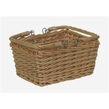 Shopping Basket Mini Rectangular Swing Handle Shopper