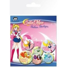 Sailor Moon Mix Badge Pack
