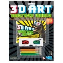 Dinosaur World 3D Art - 4M