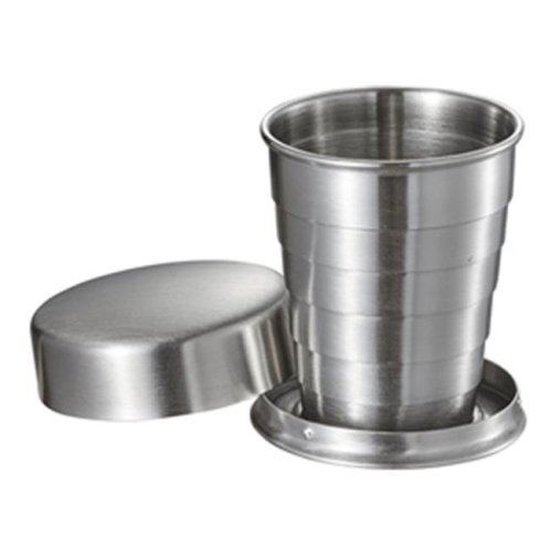 Visol VAC371 Scope Stainless Steel Folding Shot Cup - 2 oz