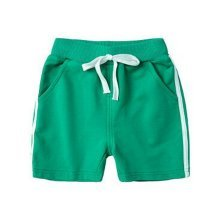 Baby Boy Short Pants Cute Short Pants for Summer Suitable for 120cm [F]