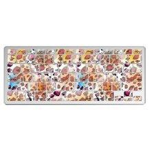 """1 Piece MacBook Pro 13"""" Keyboard Sticker Decal Keyboard Skin, Leopard Pattern"""