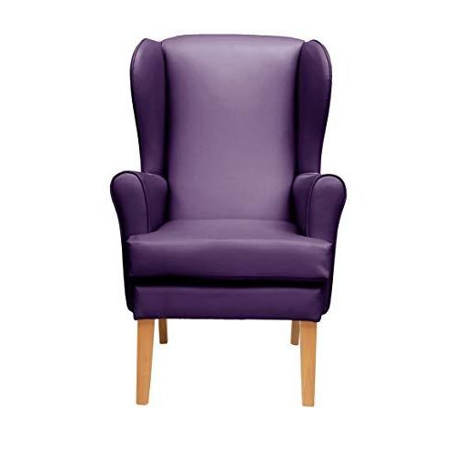 MAWCARE Morecombe Orthopaedic High Seat Chair - 21 x 18 Inches [Height x Width] in Manhattan Purple (lc21-Morecombe_m)