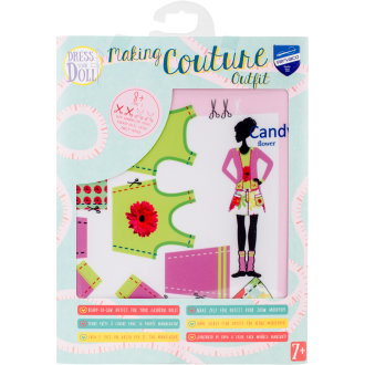 Dress Your Doll Making Couture Outfit Set-Candy Flower