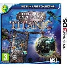 Hidden Expedition - Titanic (Nintendo 3DS)