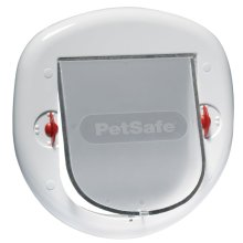 PetSafe 4-Way Pet Flap 280 White 5001